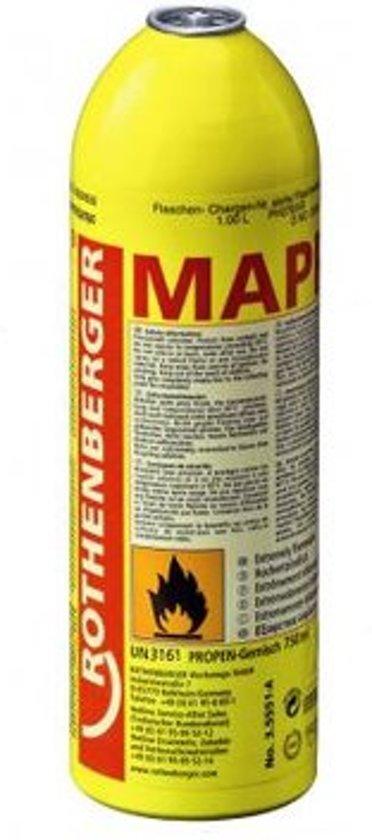 gasvulling Mapp gas 750ml