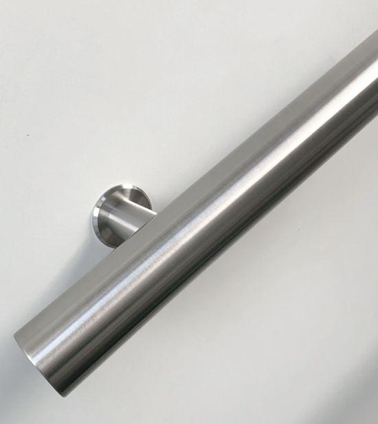 Rvs trapleuning model S 100 cm