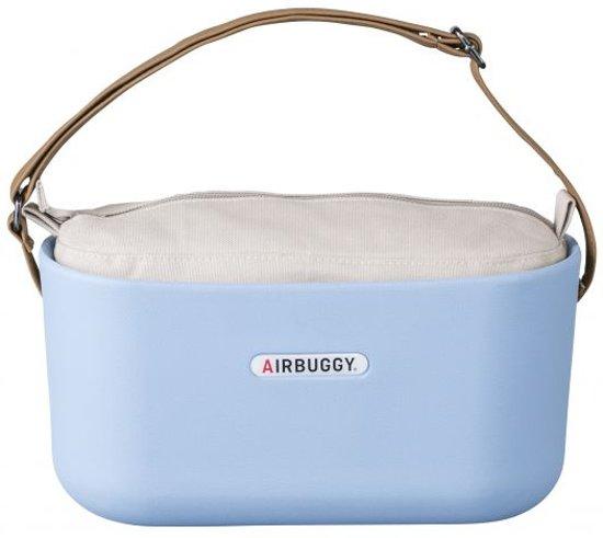 Airbuggy handtas hondenbuggy eorganizer powder blauw 31x14x37 cm