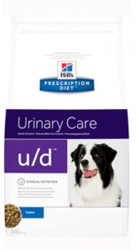 Hill's Canine U/D Uraat/Cystineblaasstenen - 12 KG