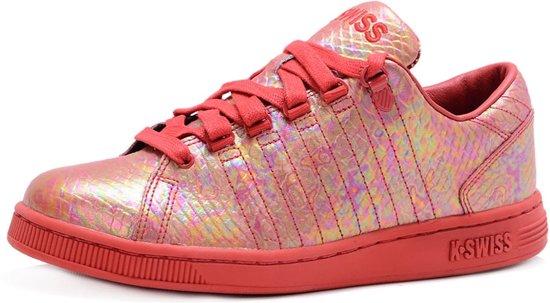 K-Swiss Lozan III Rode Dames Sneakers - Damesschoenen - Maat: 39,5