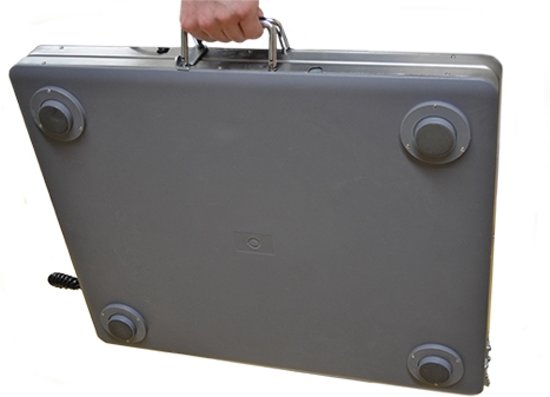 Professionele opvouwbare weegschaal tot 300kg, op 100gram nauwkeurig