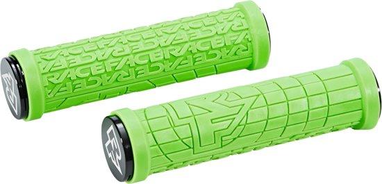 Race Face Grippler handvatten, green Diameter 33mm