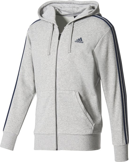 adidas Essentials 3 Stripes Hoodie Hoodie Heren
