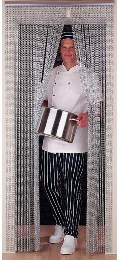Insectengordijn aluminium