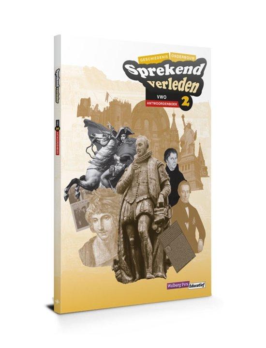 Sprekend verleden VWO 2 Antwoordenboek - Conny Bastiaans pdf epub