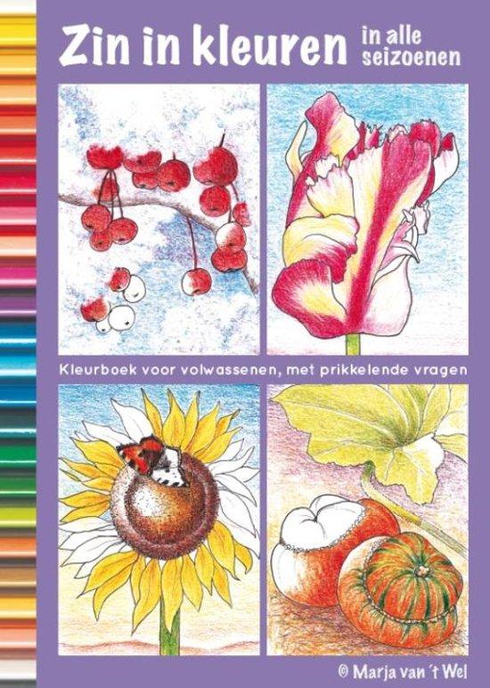 Mandala Kleurplaten Seizoenen.Bol Com Zin In Kleuren 3 Zin In Kleuren In Alle Seizoenen Marja