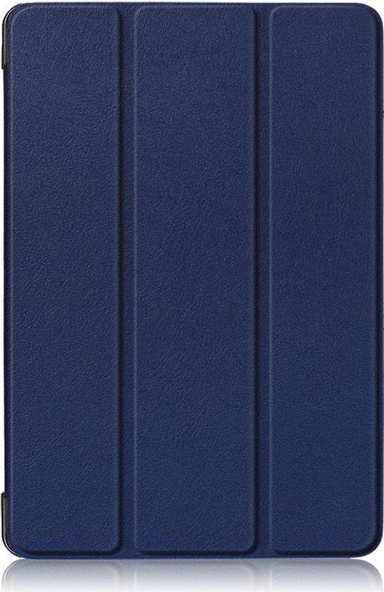 Shop4 - Huawei MediaPad T5 10 Hoes - Smart Book Case Donker Blauw