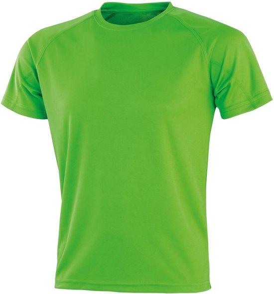 Senvi Sports - Impact Aircool Sport Shirt - Lime - M - Unisex