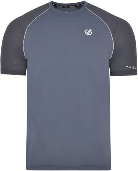 Dare 2b-Institute Wool T-Outdoorshirt-Mannen-MAAT M-Grijs