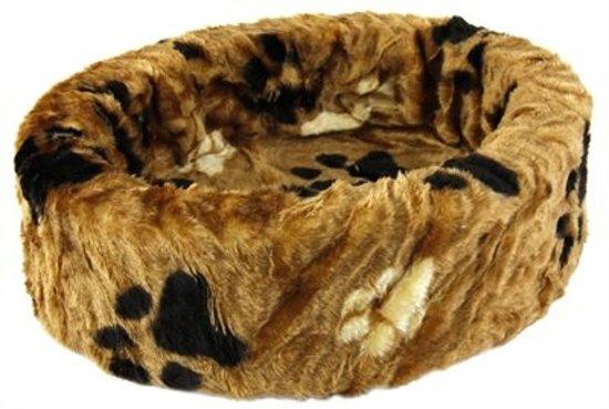 Petcomfort Kattenmand bont - 50 cm - Bruin