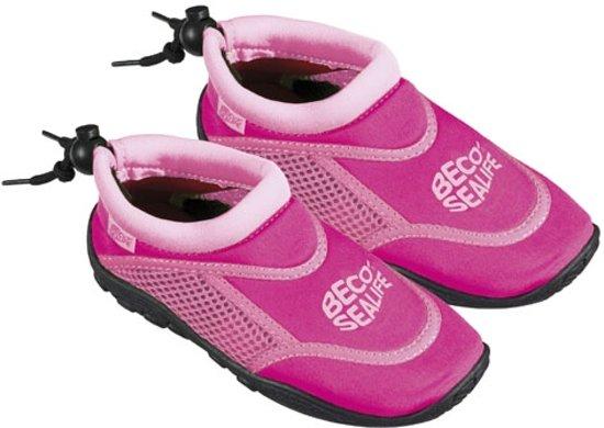 Kinder waterschoenen / Zwemschoenen voor kinderen - Beco Sealife Roze - Maat 24/25