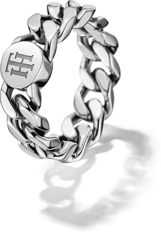 Tommy Hilfiger TJ2700966 Ring - Zilverkleurig