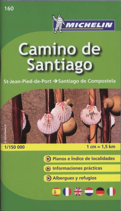 Camino de Santiago - Zoom Map 160