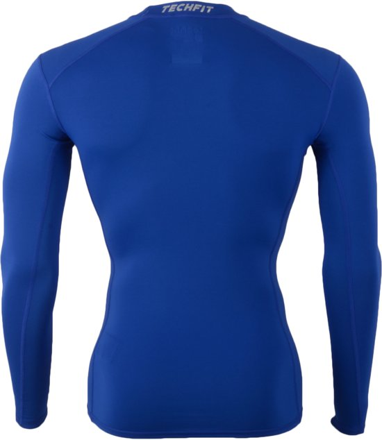 Maat Base Techfit Blauw Adidas S Voetbalshirt Heren wCTI7a