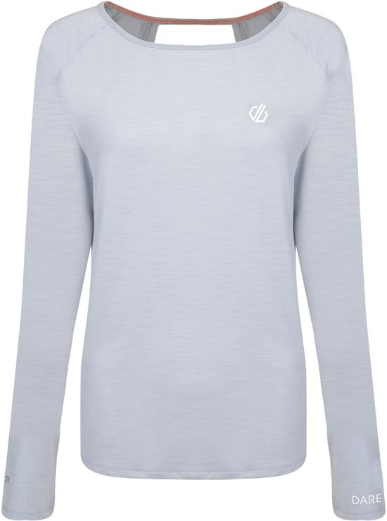 Dare 2b-Riposte L/Sleeve-Outdoorshirt-Vrouwen-MAAT XL-Grijs