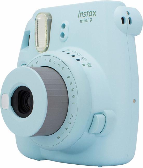 Fujifilm Instax Mini 9 - Ice Blue met 40 Filmset Specials  10 candypop-10 Mono Chrome -20 minifilm