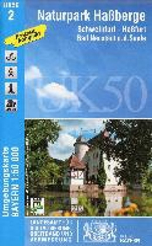 Naturpark Haßberge 1 : 50 000