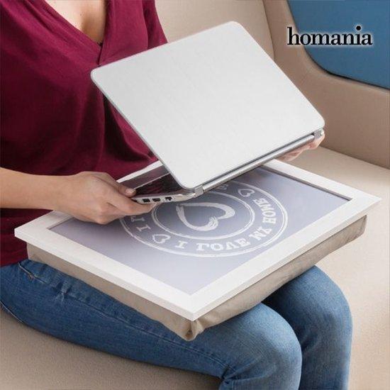 I Love my Home by Homania Dienblad-Kussen voor Laptop&Tablet