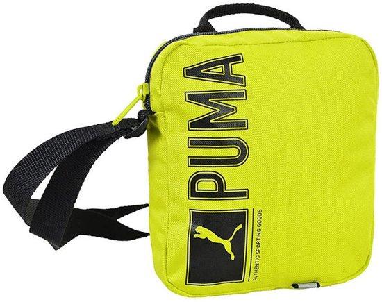 f0985b967b9d Puma Pioneer Portable Bag Lime Groen 18 X 21 X 6 Cm