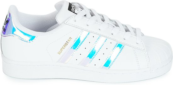 3dd9722a743 bol.com | adidas - Dames Sneakers Superstar - Wit - Maat 38 2/3