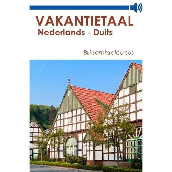Afbeelding van Vakantietaal Nederlands-Duits