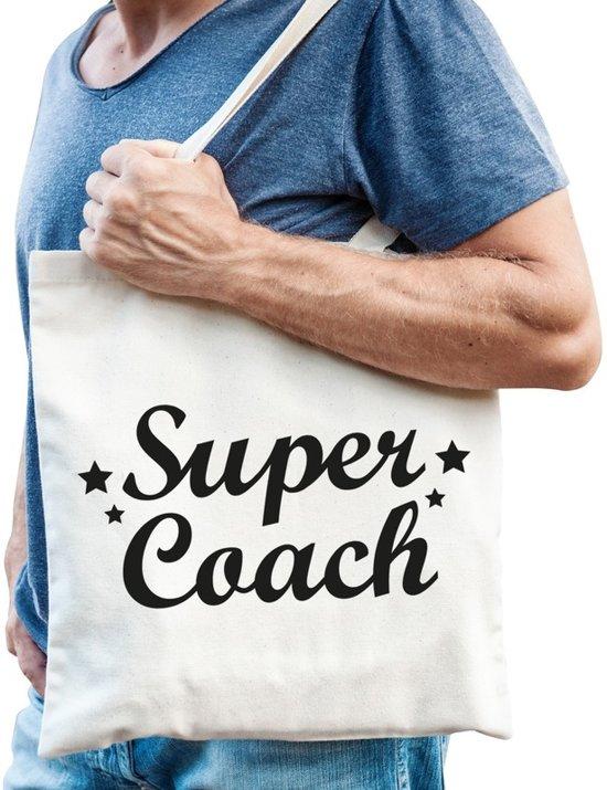 59b7078dffe8f8 bol.com | Super coach katoenen tas - Coach/trainer tas