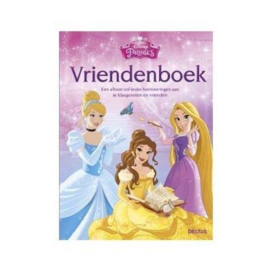 Disney Princess - Disney Prinses vriendenboek