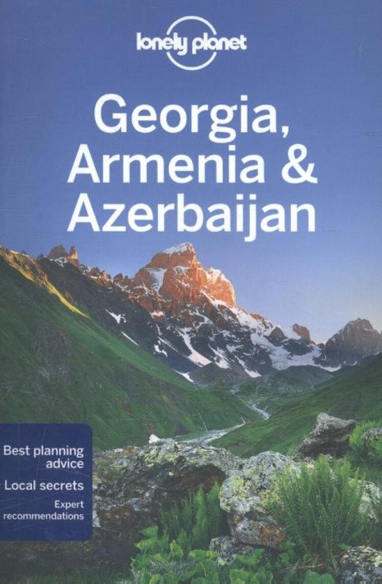 Lonely Planet Georgia, Armenia, Azerbaijan cover