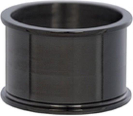 IXXXI Basisring zwart 14mm - maat 17,5