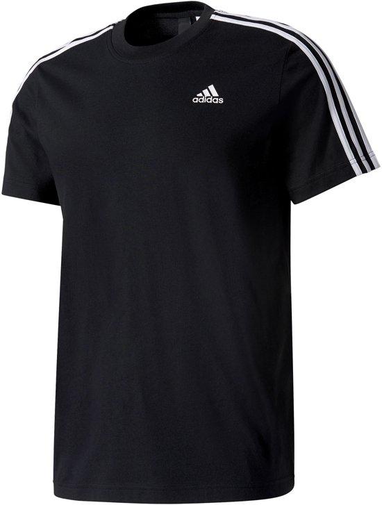 177cb632061 bol.com | adidas Ess 3S Tee Sportshirt Heren - Black