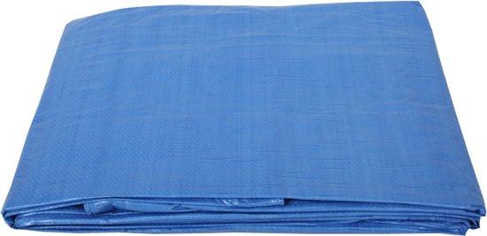 Afdekzeil 10x15 meter blauw