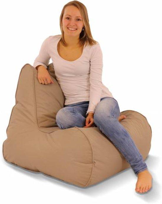 Puffi Lounge Chair Zitzak Adults Taupe