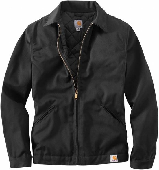 Carhartt Twill Jacket Work Black Heren 76gYbfyv