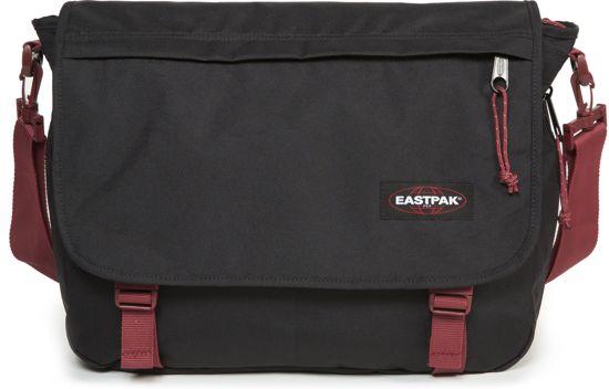 701b120c6e1 bol.com | Eastpak Delegate Schoudertas - 20 liter - Black-Red
