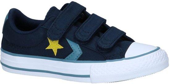 299254675d4 Converse Jongens Sneakers Star Player 3v Ox Obsidian - Blauw - Maat 35