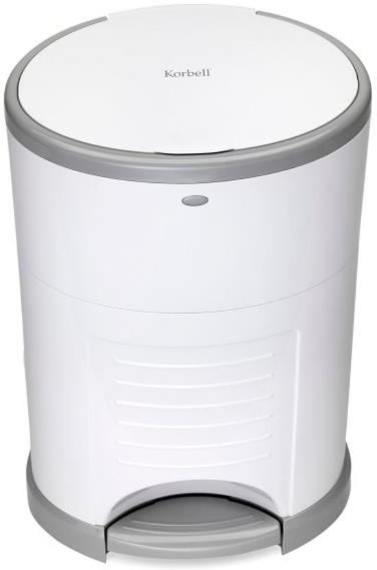 Korbell - Luieremmer 16 liter - Wit