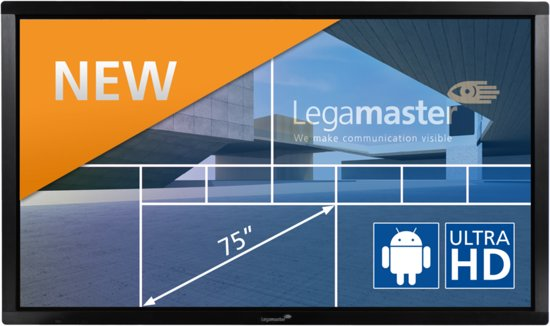 Legamaster E-Screen ETX-7500UHD