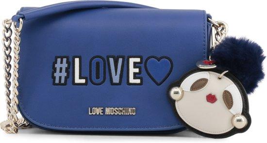 Love Moschino Dames Moschino Love Handtas Dames Blauw Handtas KJl1uc3TF