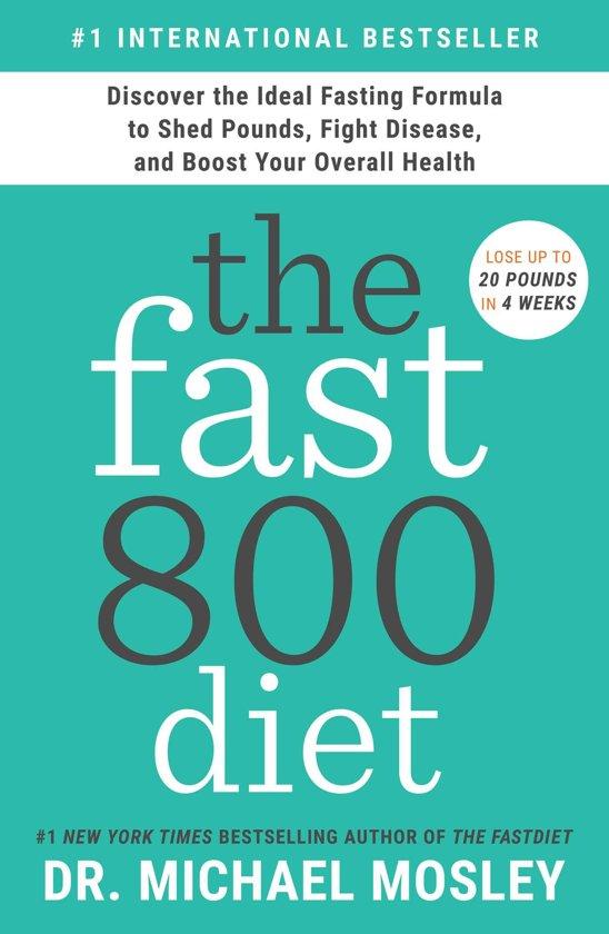 Boek cover The Fast800 Diet van Dr Michael Mosley (Onbekend)
