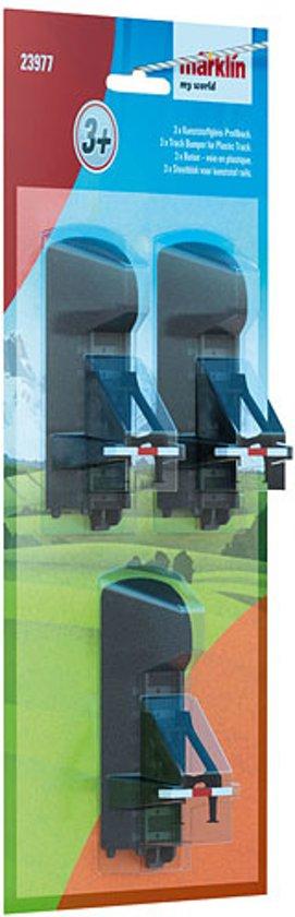 Märklin My World -Stootblok voor kunststof rails.