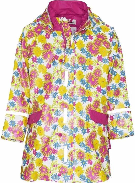 Kinder regenjas bloemen design 92 (18-24 mnd)