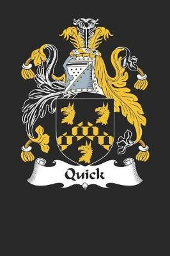 Quick: Quick Coat of Arms and Family Crest Notebook Journal (6 x 9 - 100 pages)