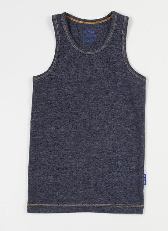 Claesen's Jongens Onderhemd - Denim - Maat 92/98