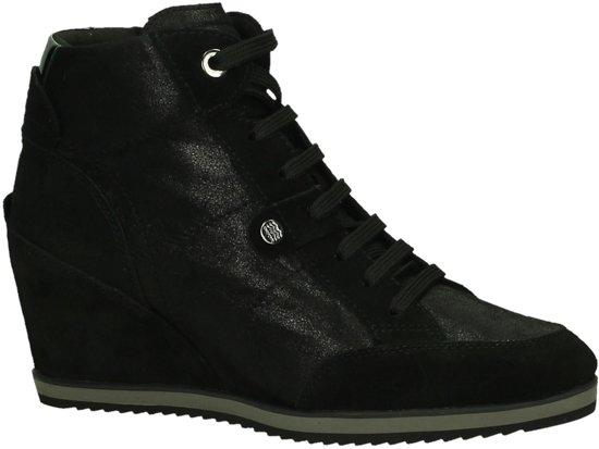 4ffb657c236 bol.com | Geox - D 4454 A - Sneaker met sleehak - Dames - Maat 39 ...