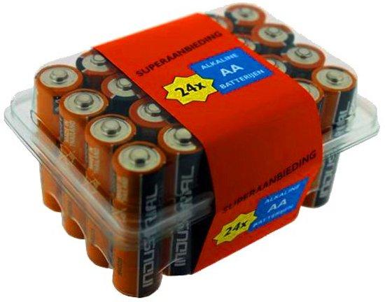 Grootverpakking Duracell batterijen 24 x AA (LR6)