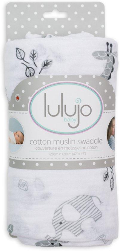 Lulujo swaddle 120x120 - Afrique