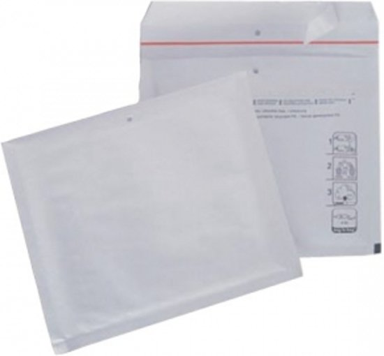 10 Luchtkussen Enveloppen CD Formaat 180x165 mm - Bubbeltjes Enveloppen