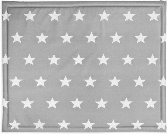 Jollein Little Star - Boxkleed 75x95 cm - Antraciet