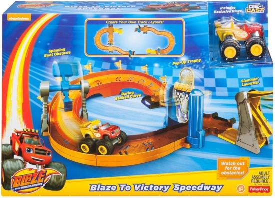 Fisher-Price Blaze en de Monsterwielen Blaze Naar de Finish Racebaan